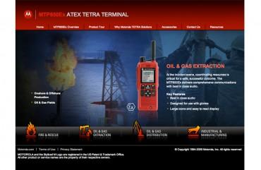 Máy bộ đàm Motorola MTP850EX ATEX