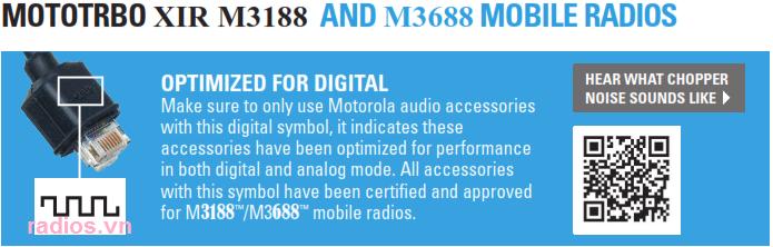 Phụ kiện Motorola XiR M6660, NHÀ PHÂN PHỐI