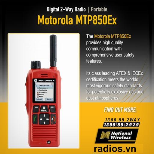 Motorola MTP850EX ATEX