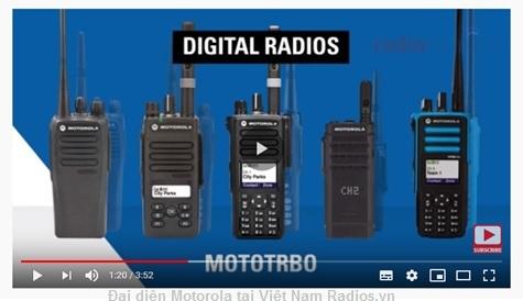 Máy bộ đàm Motorola công nghệ kỹ thuật số chuẩn DMR TDMA