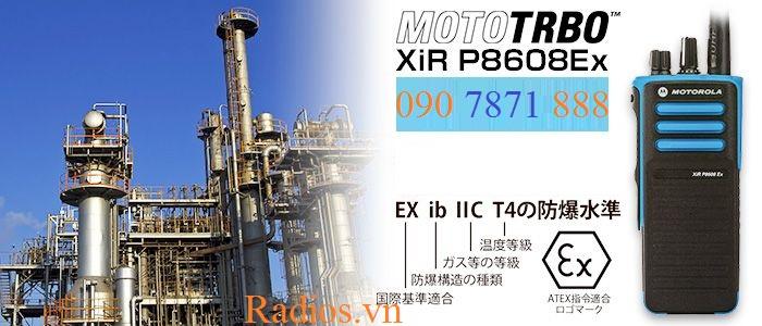 Bộ đàm chống cháy nổ atex Motorola XiR P8608 EX