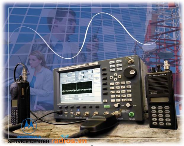 Trung Tâm bảo hành Máy bộ đàm Motorola tại Việt Nam trang bị may đo thế hệ mới phục vụ cho dịch vụ bảo hành của nhà sản xuất Motorola