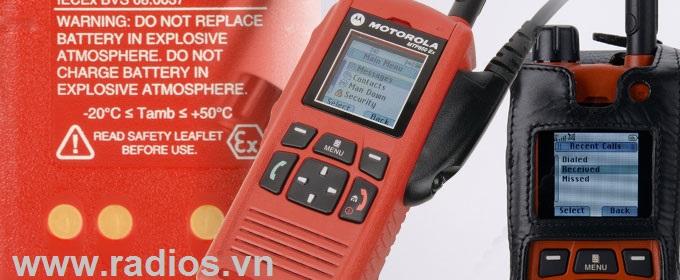 Bộ đàm chống cháy nổ MTP850EX ATEX