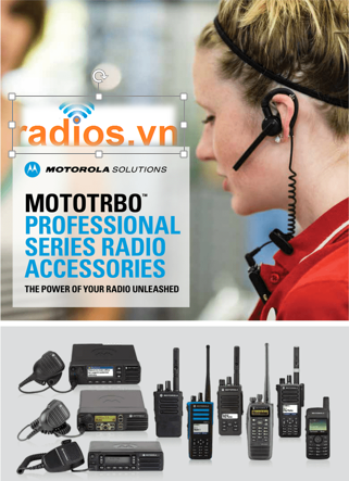 Phụ kiện chính hãng dùng cho Motorola xir p8668i