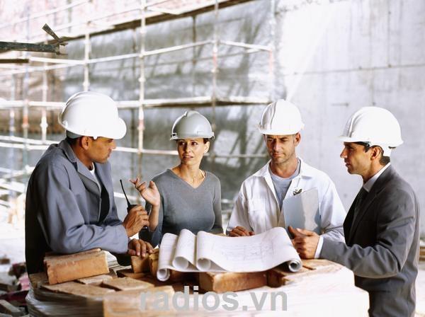 Máy bộ đàm dùng cho ngành xây dựng