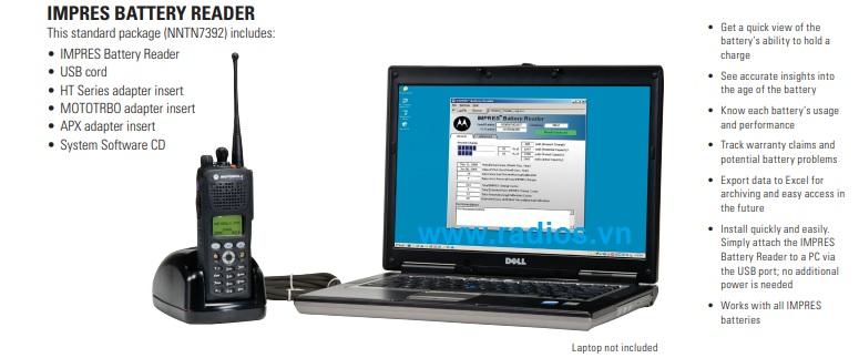 Pin thông minh IMPRES Motorola P6620i p8600i PMNN4407