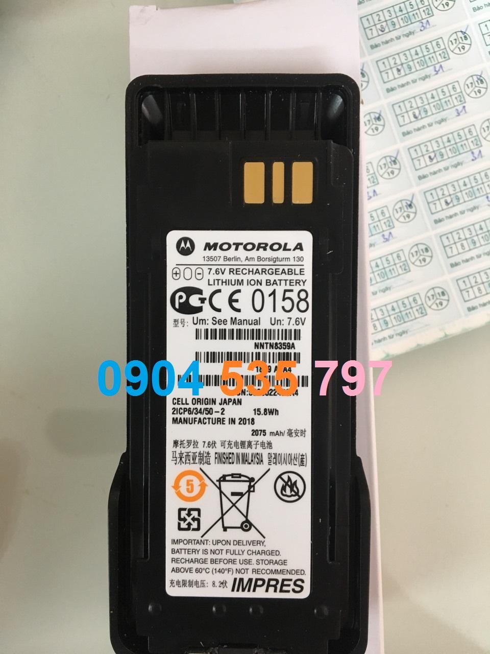 Pin máy bộ đàm Motorola P8668 Ex